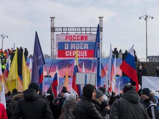 Евгений Куйвашев принял участие  в патриотической акции «Россия в моем сердце»