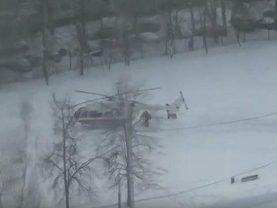 Подростка экстренно эвакуировал вертолет после драки в московской школе