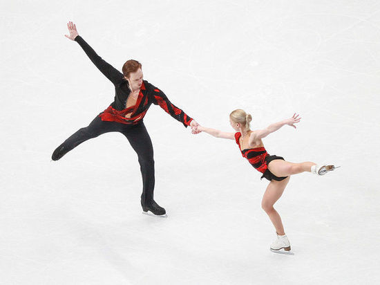 Российские фигуристы Тарасова и Морозов выиграли короткую программу на Олимпиаде