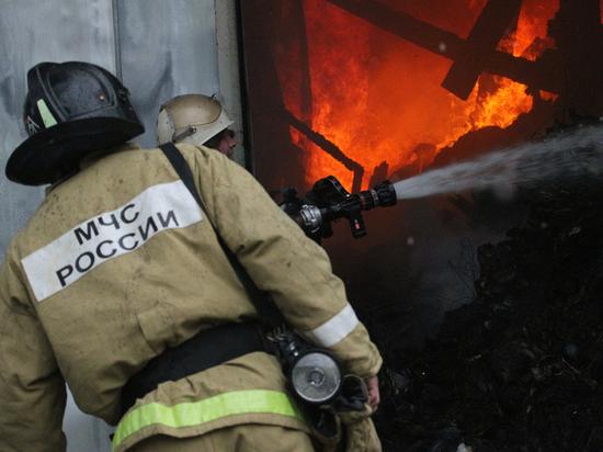 При пожаре в многоквартирном доме в Тамбове погибла 95-летняя женщина
