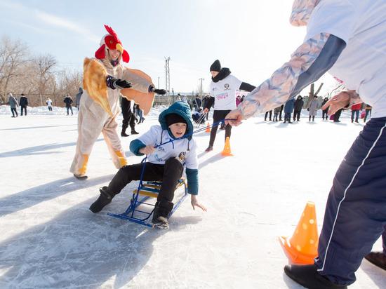 Волгоградцы присоединились к Всероссийскому дню снега