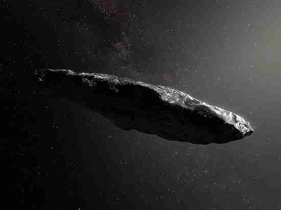 Разгадана тайна астероида, принятого за космолет инопланетян