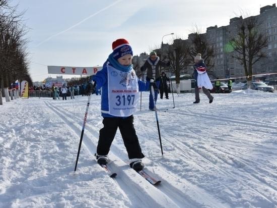 В Чувашии на старт «Лыжни России» вышли более 60 тысяч человек