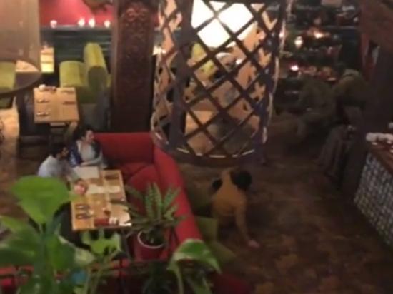 Михаила Саакашвили задержали в ресторане