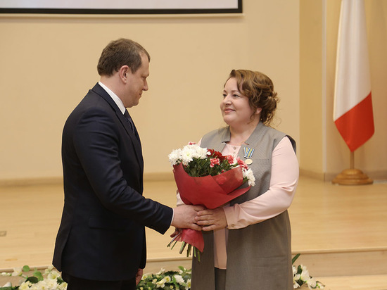 В Вологде наградили представителей науки Вологодской области