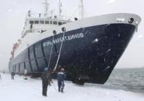 Теплоход «Игорь Фархутдинов» благополучно прибыл в место назначения
