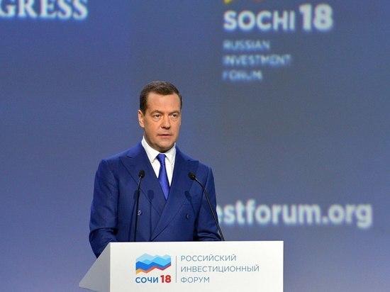 Медведев отказался разговаривать с надоевшим роботом Мишей