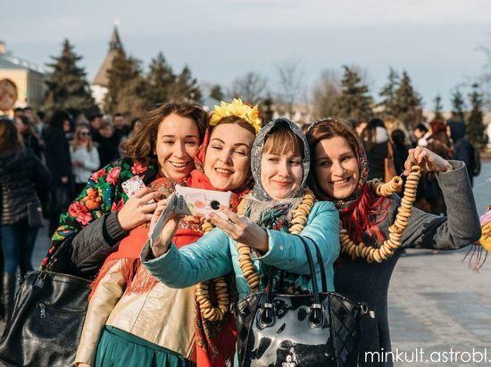 Как в Астрахани отмечают Масленицу