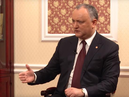 Игорь Додон: за дружбу с Россией и православные ценности