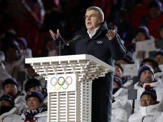 Бах по своей инициативе встретился со спортсменами в Пхенчхане