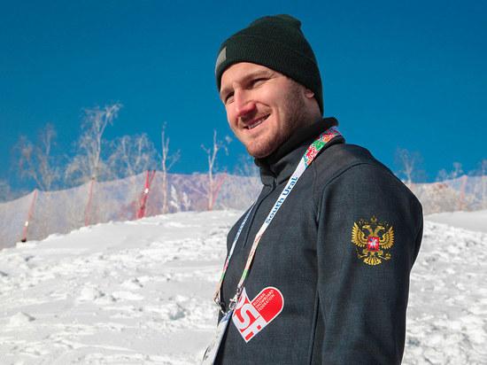 Тренеры обвинили соперников сломавшего ногу сноубордиста Олюнина: его толкнули