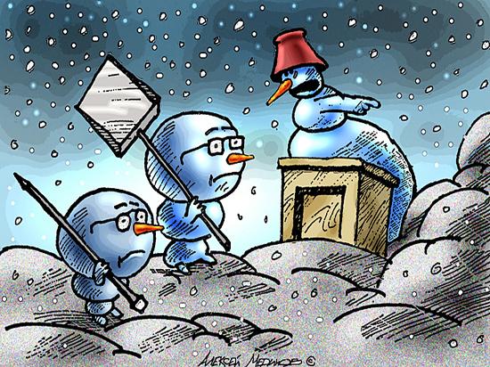 Поющие на морозе