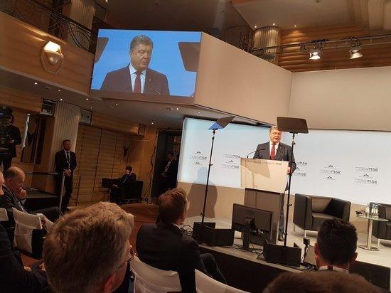 Порошенко заявил о развязывании Россией мировой гибридной войны