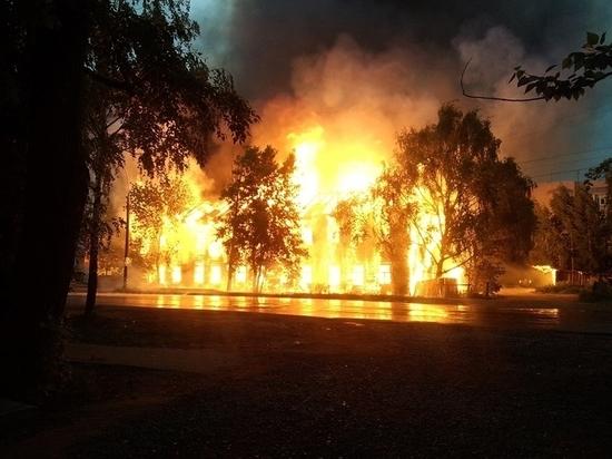 За последние 15 лет в Вологде сгорело не меньше 50 деревянных домов.