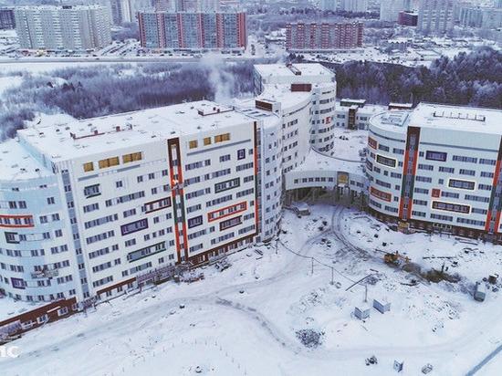 Строительство перинатального центра в Сургуте идет с опережением графика