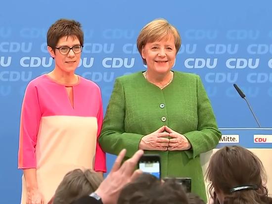 DW: Ангела Меркель подобрала себе преемницу