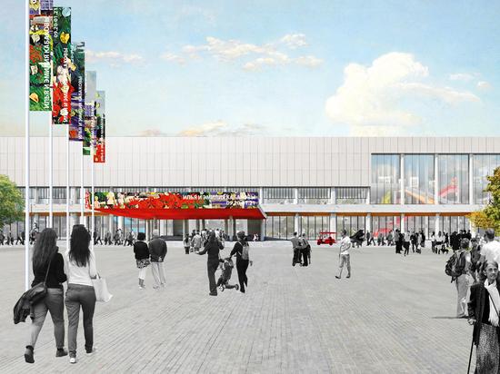 Третьяковка захватила ЦДХ: галерея проведет реконструкцию здания на Крымском Валу