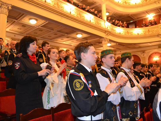 Победителями слета юных патриотов стали кадеты из Перми и Донецка
