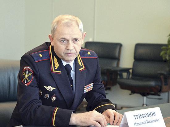 Новый глава ГУ МВД области Трифонов представлен губернатору