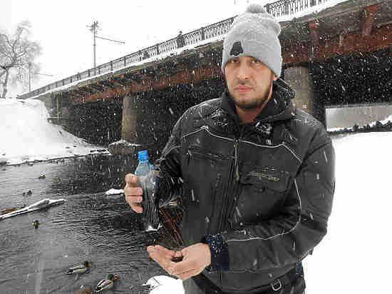 В Кузбассе течет черная река Аба