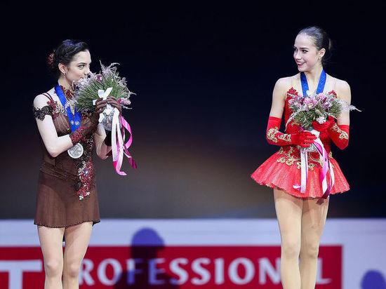 Фигуристки Загитова и Медведева выиграли короткую программу Олимпиады с рекордами