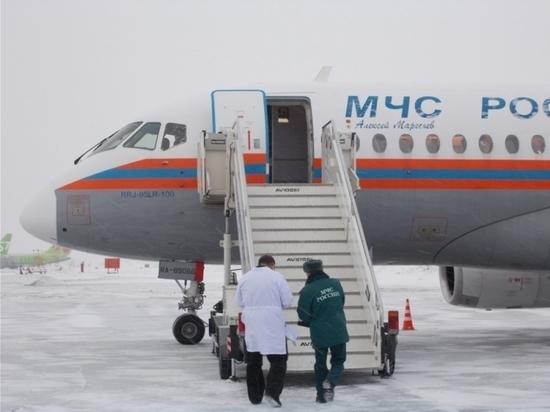 Ребенка из Новосибирской области отправили на операцию спецбортом МЧС