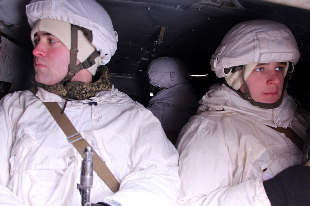 Огнем и маневром: тренировочный день ударного батальона
