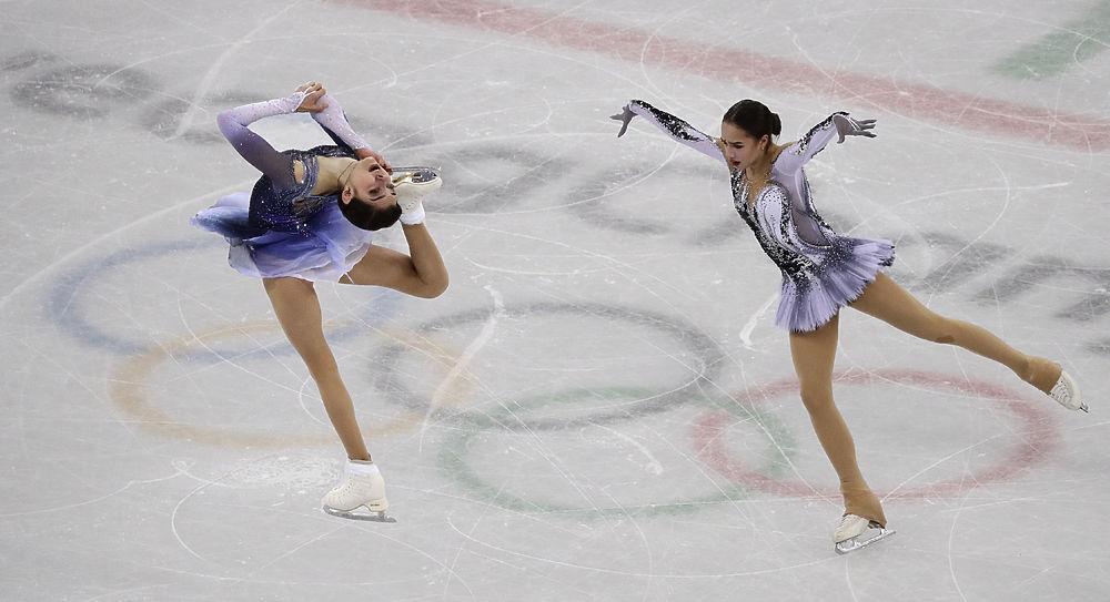 Алина Загитова и Евгения Медведева: фото эмоций и рекордов Олимпиады