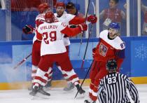Российские хоккеисты победили Чехию и вышли в финал Олимпиады 2018