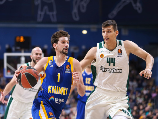 Баскетбол: как «Химки» отомстили грекам в Евролиге