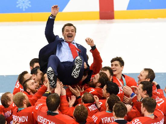 Американская газета назвала хоккейную сборную России командой без страны