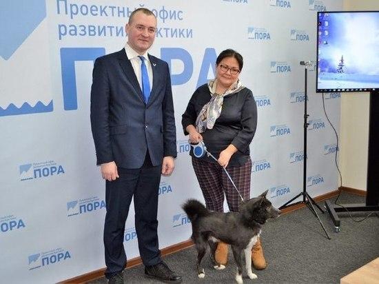 В Москве обсудили сохранение ненецкой оленегонной лайки