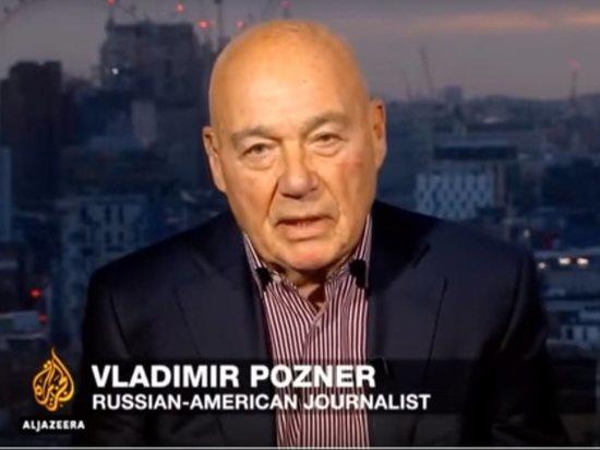 Познер рассказал о скандальной программе «Аль-Джазира» про «кагебешника» Путина
