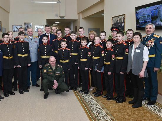 Максим Решетников провел встречу с ветеранами и кадетами ЗАТО Звездный