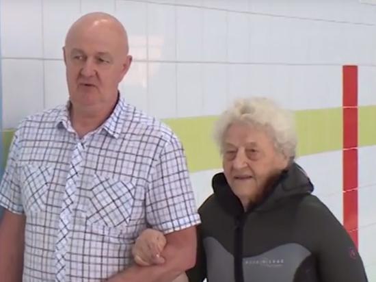 «Железная бабушка»: ветеран войны попыталась установить рекорд полета в аэротрубе