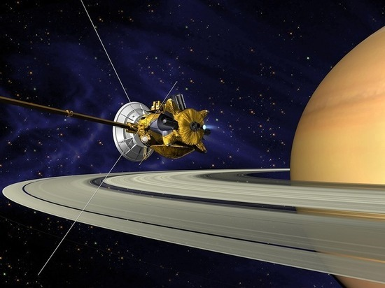 Опубликованы «предсмертные» фотографии знаменитого зонда «Кассини»