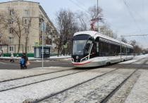 На новом московском маршруте трамвай будет ходить почти каждую минуту