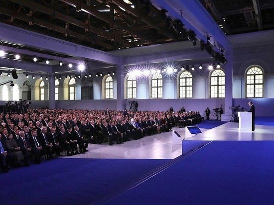 Вологжане в режиме онлайн посмотрели послание Президента РФ Федеральному собранию