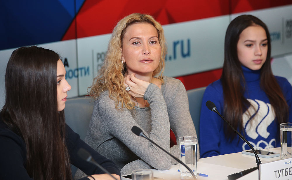 Загитова, Медведева и тренер Тутберидзе: фотосплав молодости и опыта