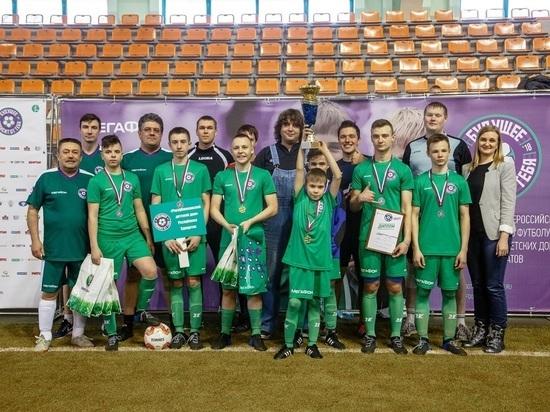 Дети обыграли в футбол команду победителя «Дакар» Сергея Карякина
