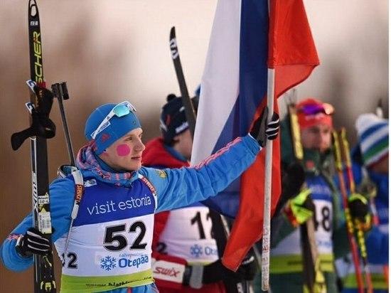 Омский биатлонист показал лучший результат в истории первенств мира