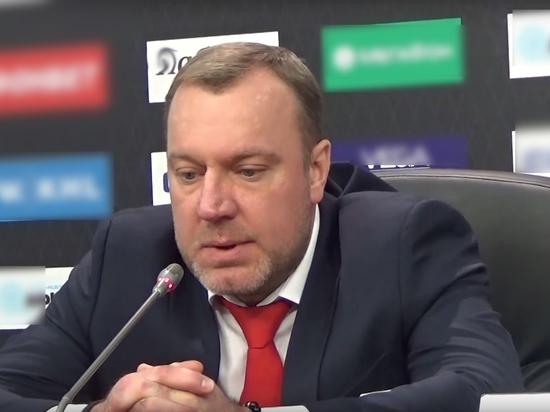 Главный тренер хоккейного «Спартака» Епанчинцев: «Всерьёз настроены биться с ЦСКА»