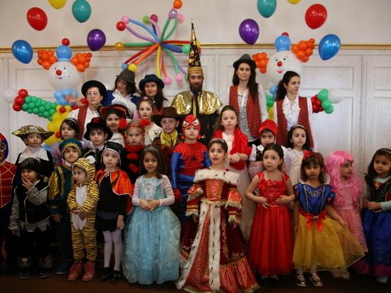 В еврейской общине города Дербент отметили праздник Пурим