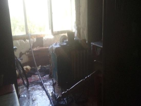 В Казани во время пожара погибла женщина