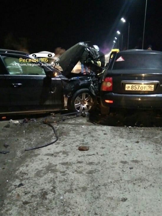 Автомобиль гендиректора МУП «Метроэлектротранс» попал в смертельное ДТП