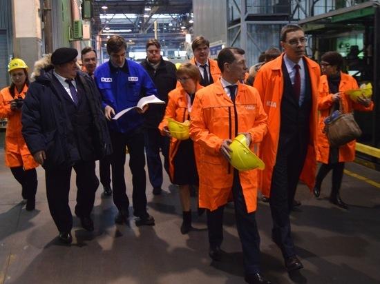 Костромской завод автокомпонентов посетил министр труда и соцзащиты Максим Топилин