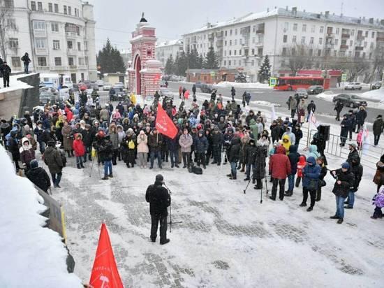 В Казани противники строительства мусоросжигательного завода провели митинг