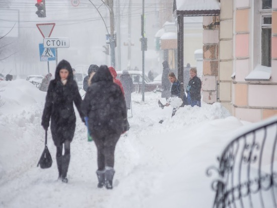 В Самаре ожидается снегопад и сильный ветер