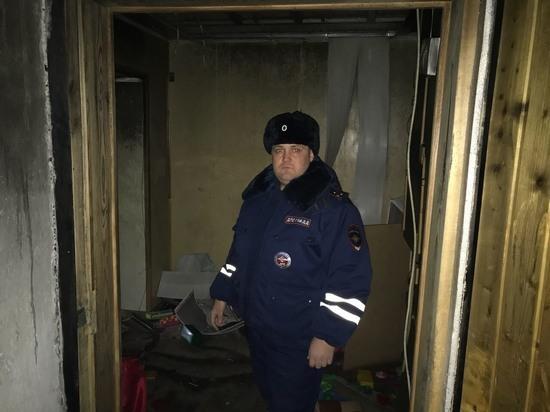 В Орске 4-летнюю девочку долго не могли найти в горящей  квартире