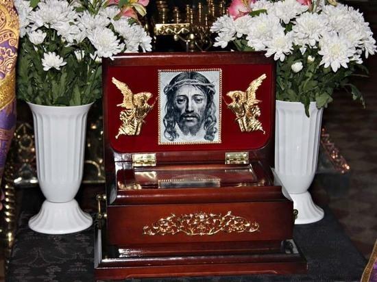 Часть тернового венца Иисуа Христа привезут в Астрахань